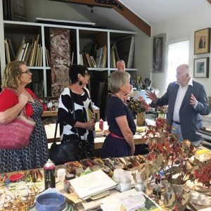 John Olsen Studio Visit : Louise Fraser