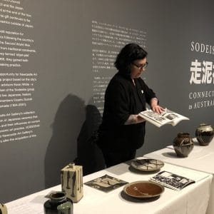 Sodeisha: connected to Australia exhibition and master Japanese potter Shoji Hamada – a private viewing