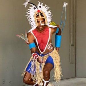 Oceanic Artefacts and Indigenous Dance Recital